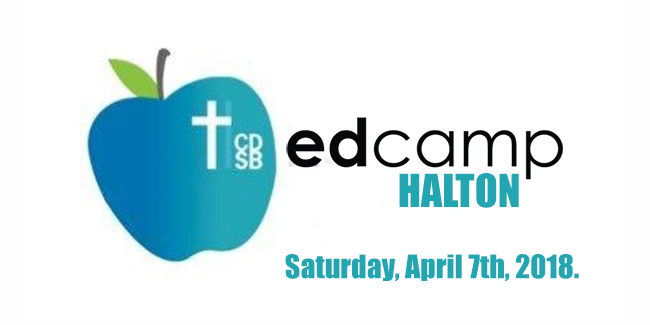 EdCampHalton will take place on Saturday, April 7th, 2018 from9:00 AM – 2:00 PM EDT at Jean Vanier Catholic Secondary School in Milton, ON L9T 8B4
