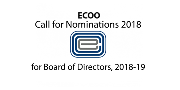 ECOO_Call For Nominations 2018