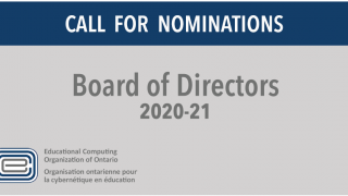 Call for Nominations, BoD 2020-21