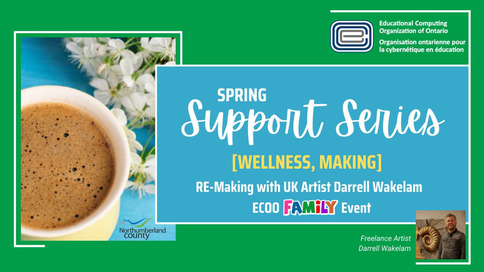 ECOO Support Series Spring Darrell Wakelam Family