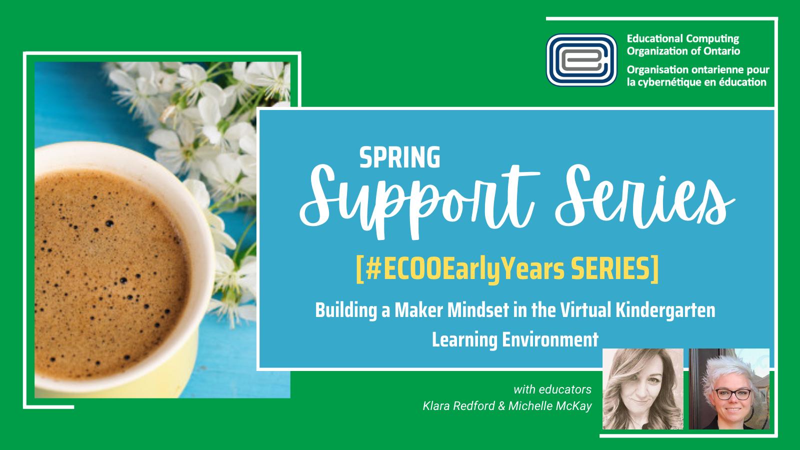 ECOO Support Series Spring Klara Redford _ Michelle McKay #ECOOEarlyYears