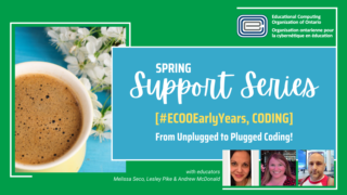 ECOO Support Series Spring Melissa Seco Lesley Pike _ Andrew McDonald Unplugged to Plugged