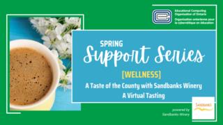 ECOO Support Series Spring Sandbanks Winery