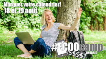 L'ECOOcamp Ontario revient!
